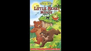 Opening To The Little Bear Movie 2001 VHS