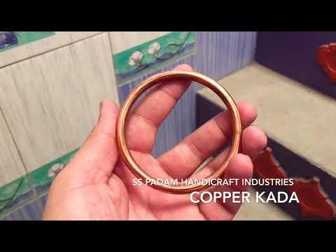 Copper Kada | तांबे का कड़ा | ਤਾਂਬੇ ਦਾ ਕੜਾ | By SS Padam Handicraft Industries