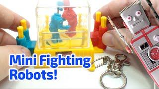 2001 ROCK 'EM SOCK 'EM ROBOTS Working Miniature Game by Fun-4-All