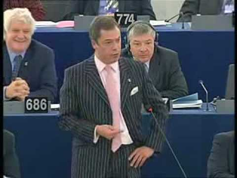 Nigel Farage on who is who in the EU commission