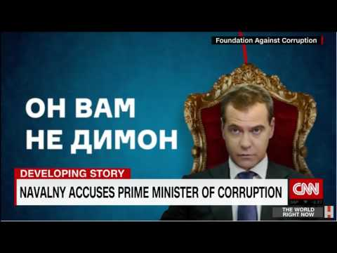 Russian opposition leader jailed for PROTESTING
