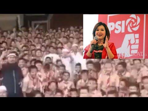 SISWA TERIAK 2019 GANTI PRESIDEN;INI TANGGAPAN PSI DAN KUBU PRABOWO;VIRAL;SD SERAGAM PRAMUKA;KAMPANY