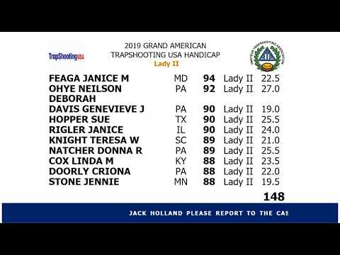 Amateur Trapshooting Association Live Stream from YouTube · Duration:  24 minutes 7 seconds
