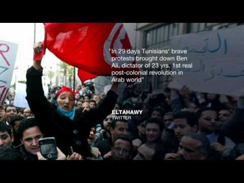 Social media's role in the Tunisian uprising