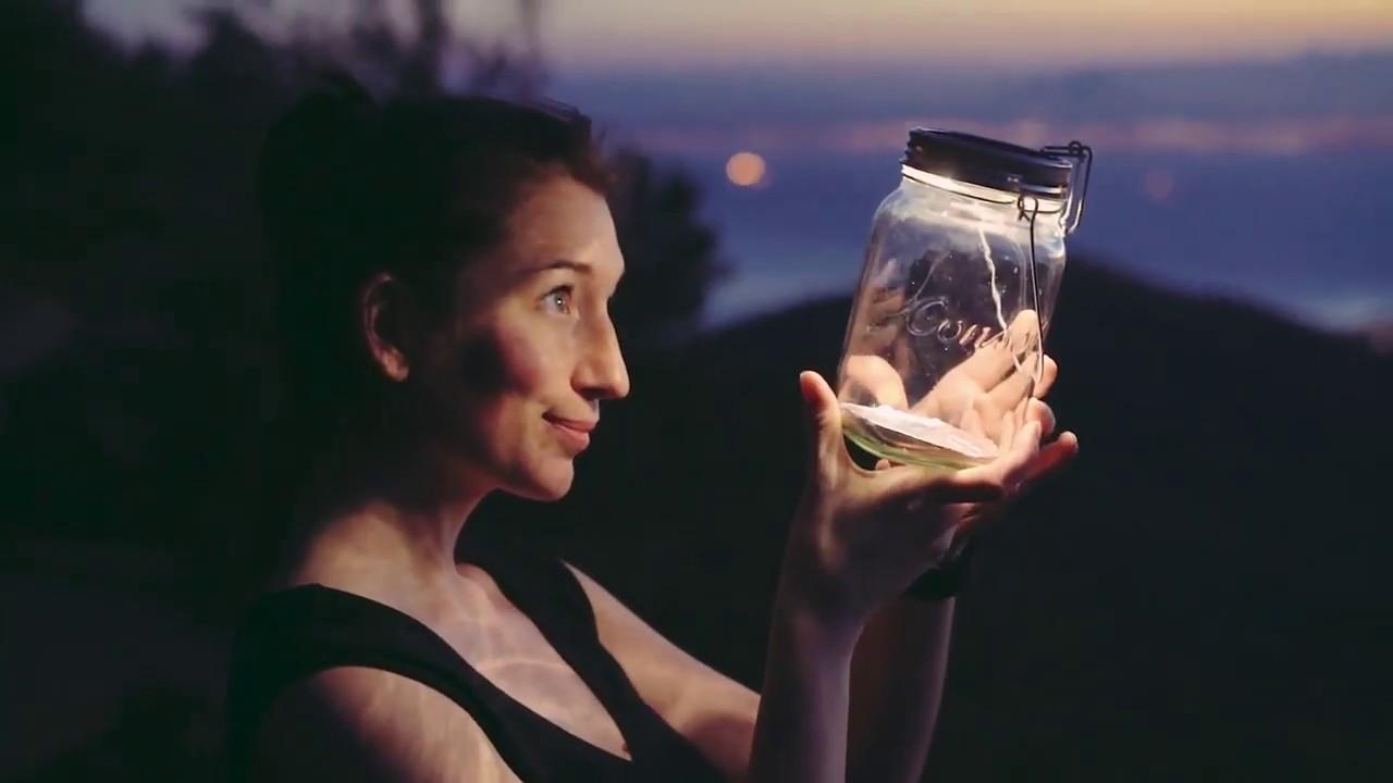 Sonnenglas Classic Illuminating Mason Jar video thumbnail