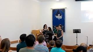 Bratislava evanjelický kostol. Americká cirkev. 10/6/2018