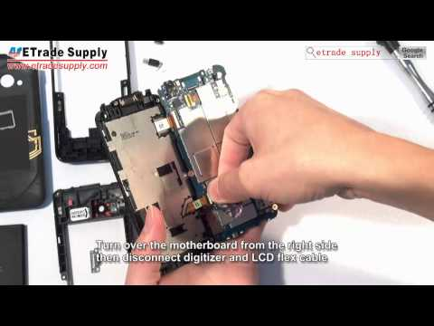 HTC Incredible 4G LTE Disassembly