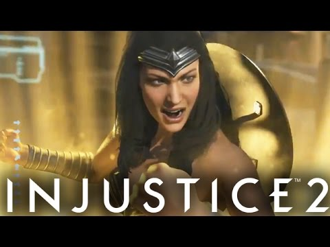 Injustice 2: Wonder Woman Gameplay Breakdown With New Gear & Abilities! (Injustice Gods Among Us 2)