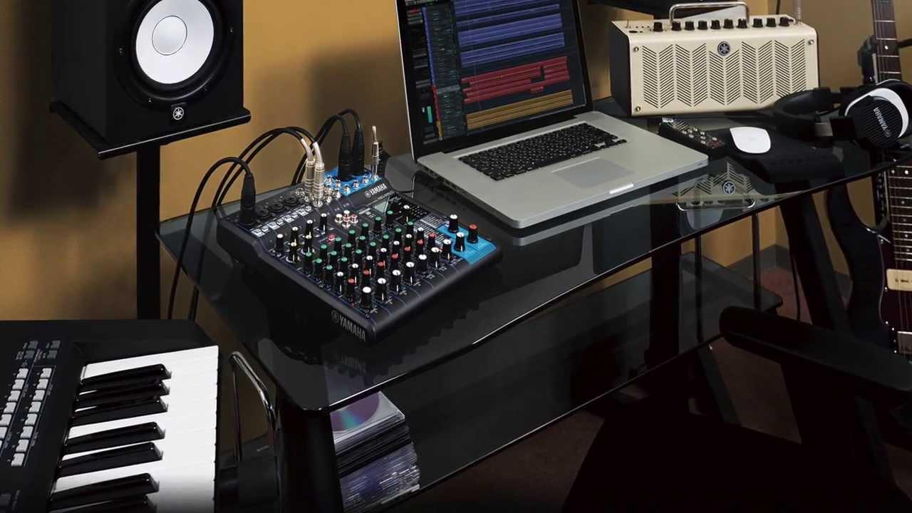 Yamaha Mixing Console Mgxu