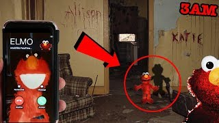 (ELMO KNOWS WHERE YOU LIVE) DONT CALL ELMO ON FACETIME AT 3AM | ELMO CAME TO MY HOUSE AT 3AM