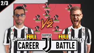 FULL CAREER BATTLE CON LA JUVENTUS!! SECONDO EPISODIO DELLA SUPER SFIDA!! w/ZWJACKSON