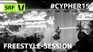 Freestyle-Session an der Virus Bounce Cypher