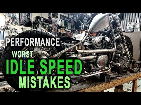 Top Idle Speed Mistakes - Are You Damaging Your Honda Shadow?
