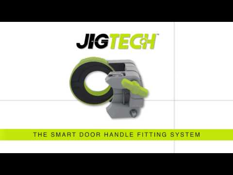 Jigtech - The Smart Door Handle Fitting System
