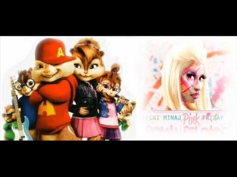 Nicki Minaj - Beez In The Trap (feat 2 Chainz) (Version Alvin y las ardillas)