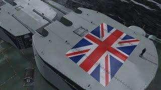 No luck just skill. HMS Edinburgh. World of Warships