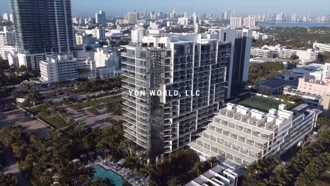 Miami 4K Drone • Mid Beach to Ocean Drive 🚁🌊 • Cinematic Drone Shots • Yon World