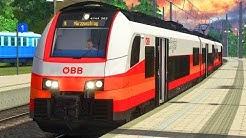 ZWANGSBREMSUNG   Streckensperrung + ÖBB Cityjet   TRAIN SIMULATOR 2020   Semmeringbahn