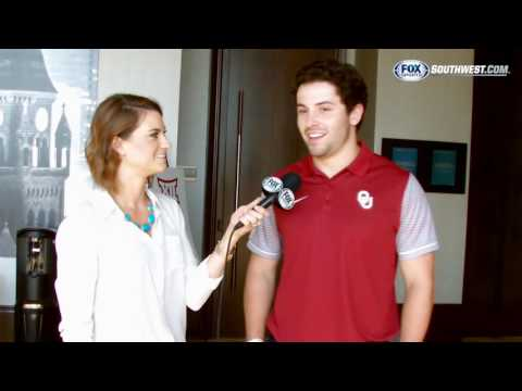 Big 12 Media Days: Baker Mayfield's love to dance
