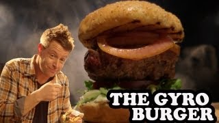 Gyro-Tastic Lamb Burger - Burger Lab