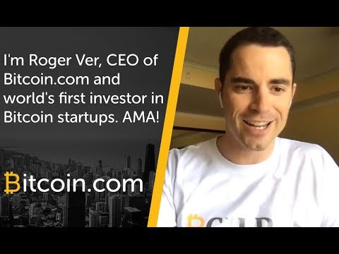 I'm Roger Ver, CEO of Bitcoin.com and world's first investor in Bitcoin startups. AMA!