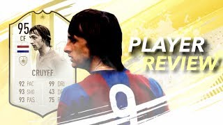 Fifa 19 Prime Moment Cruyff 95 Player Review