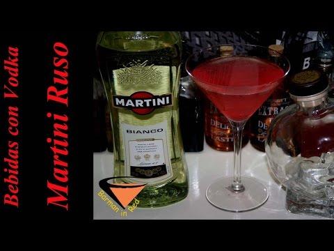 Vodka drinks RUSSIAN MARTINI