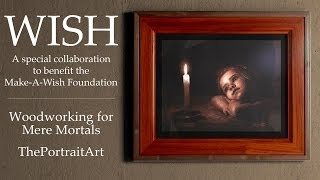 Large Picture Frame To Benefit The Make-a-wish Foundation
