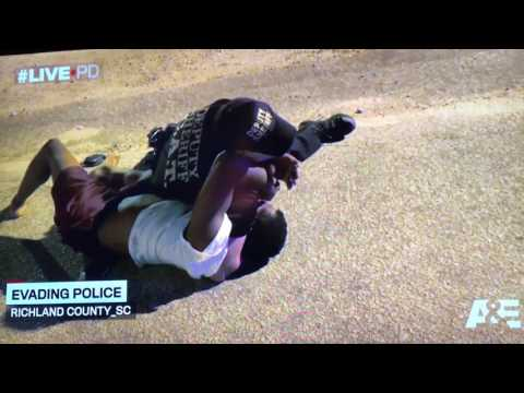Live PD 7/8/2017 Richland county chase car flips with baby