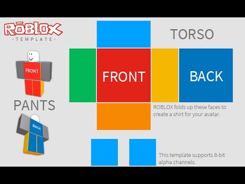 Roblox How to make a Shirt - (Roblox make a Shirt) - YouTube
