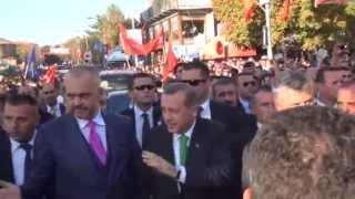 Türkischer Ministerpräsident Erdogan besucht Kosovo
