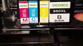 GREENBOX Replacement for HP 950XL 951XL Ink Cartridges Works just as well as the name brand ones