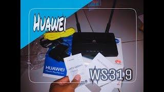 Unboxing Router Wireless 150Ribu Huawei Ws319