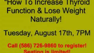Shelby Township Chiropractor - Thyroid Weight Loss Seminar