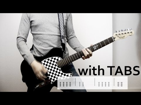 Papa Roach - American Dreams Guitar Cover w/Tabs on screen