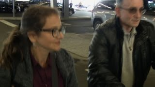 Lori Berenson Arrives in New York