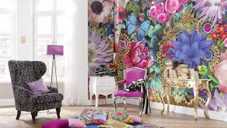 SomaliBeautifulHome| Bright floral print | Stylish detail- COOL design ideas 2018