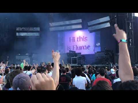Flume @ Osheaga - Full Intro into High Beams mp3