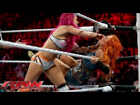 Becky Lynch vs. Sasha Banks: Raw, January 25, 2016