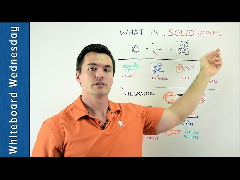 What is SolidWorks? - Whiteboard Wednesday