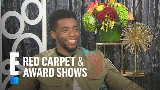 Chadwick Boseman: It's Not Hard to Love Lupita Nyong'o | E! Live from the Red Carpet