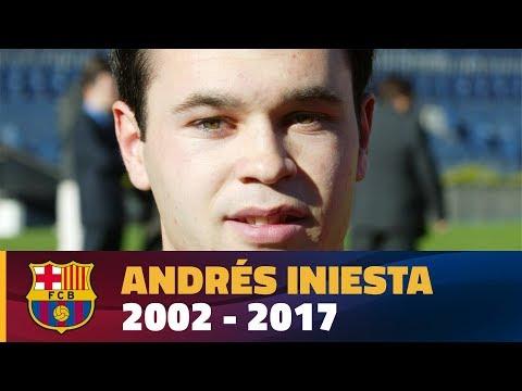 Andrés Iniesta 2002-2017
