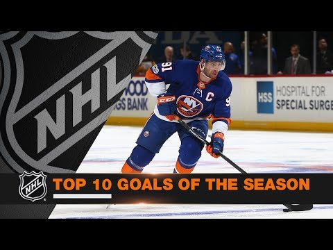 Top 10 Goals of the 2017-18 Regular Season