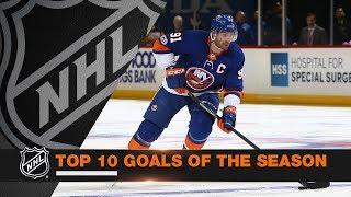 Top 10 Goals of the 2017-18 Regular Season