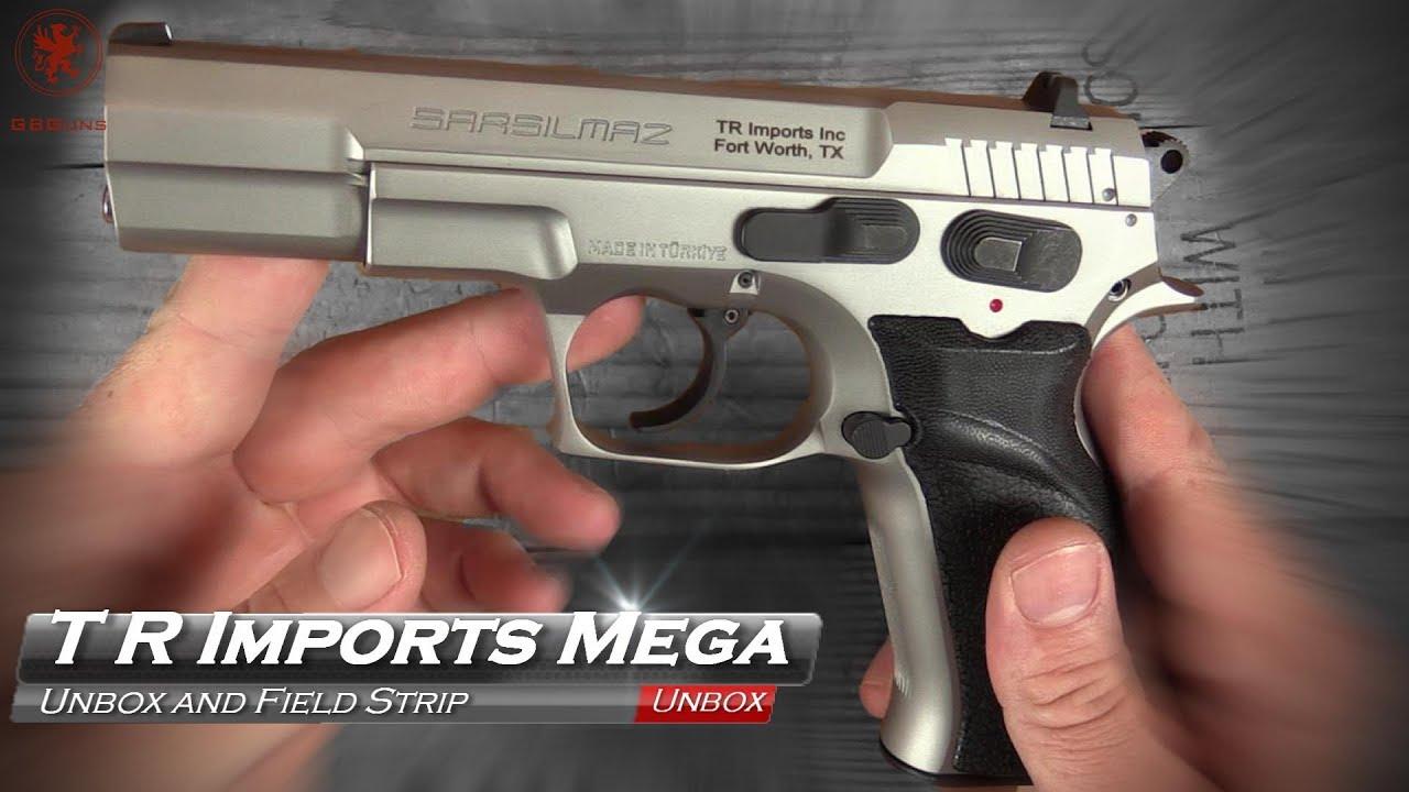 Sarsilmaz Kilinc 2000 Mega Pistol, Mega Value from T R