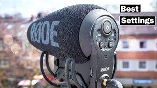 Rode VideoMic Pro Plus  Best Settings Unboxing amp; HandsOn