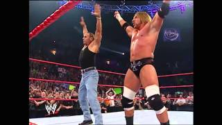 dx reunited at 2006 wwe raw hhh hbk reunion
