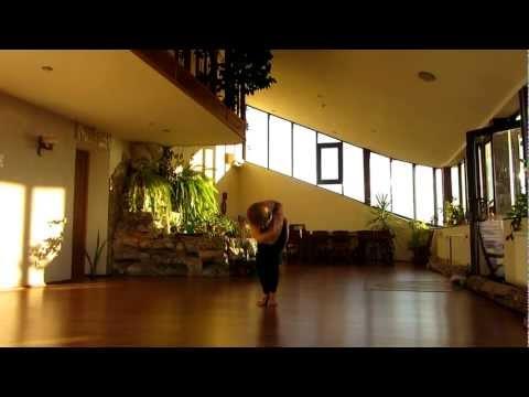 Растяжка в танце