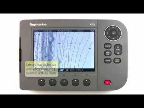 Raymarine A-Series  - Chartplotter - Multifunctional Displays