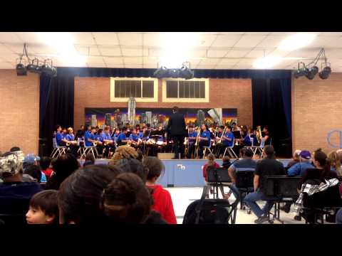Gililland Middle School Christmas Concert 2017